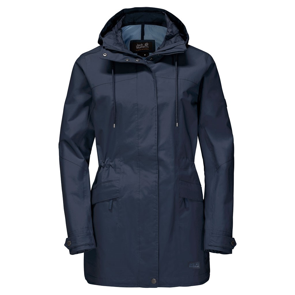quality design casual shoes super cute Jack Wolfskin Womens Cameia Parka - Midnight Blue £140.00