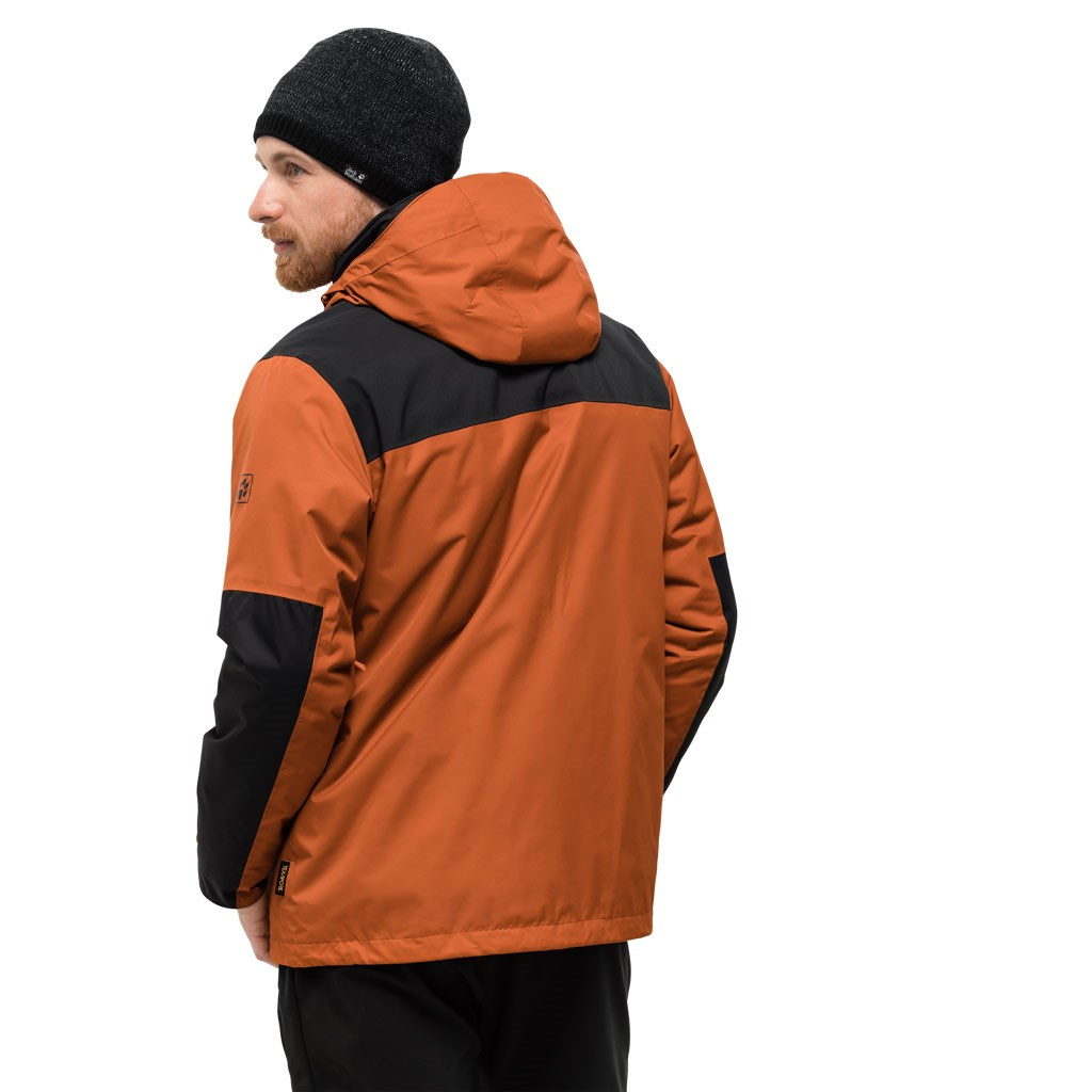 differently outlet on sale factory price Jack Wolfskin Mens Jasper 3-in-1 Jacket - Sequoia £230.00