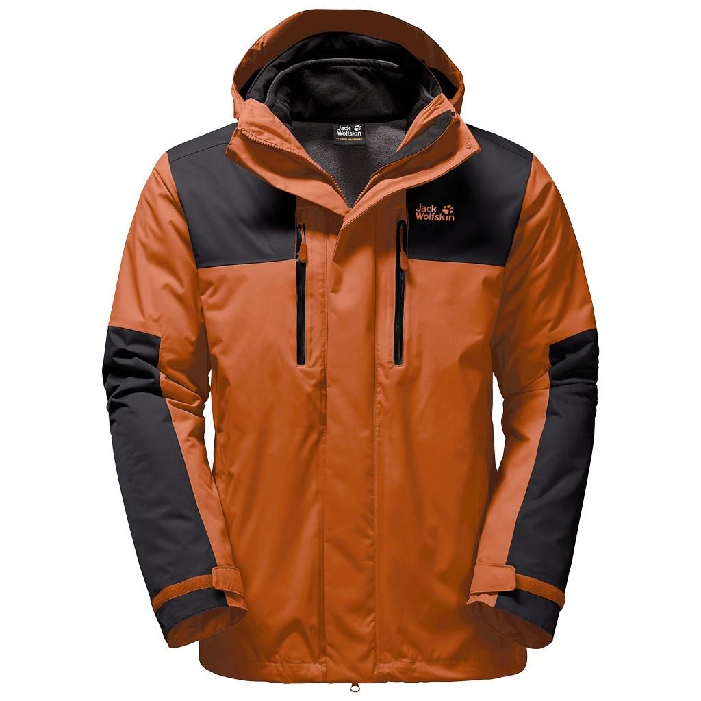511d77a04de Jack Wolfskin Mens Jasper 3-in-1 Jacket - Sequoia £115.00