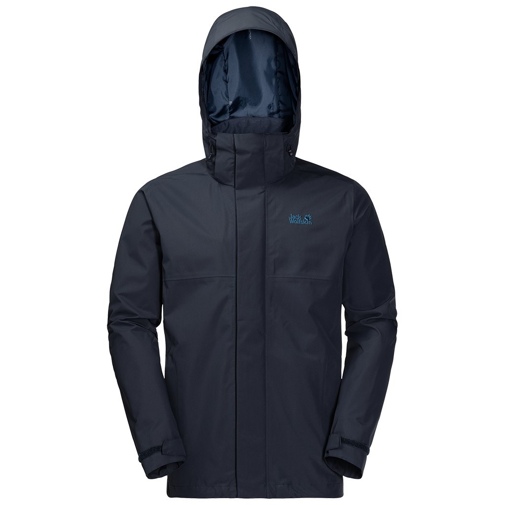 buy popular 147c1 75d61 Jack Wolfskin Mens Seven Peaks Jacket - Night Blue £140.00