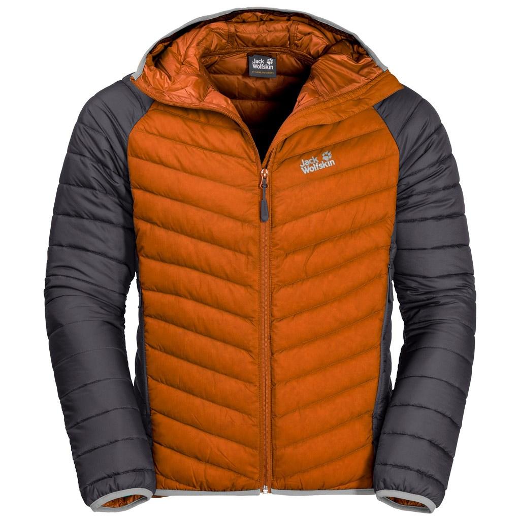buty do biegania kupować dostać nowe Jack Wolfskin Mens Zenon Storm Jacket - Desert Orange £160.00