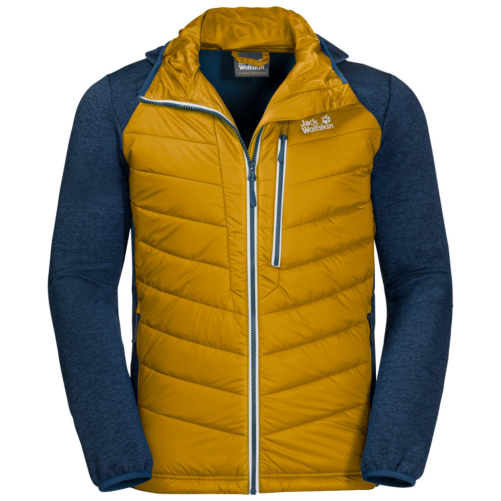 Jacket Jack Wolfskin Golden Skyland Mens Hybrid Crossing E92IeYWDH