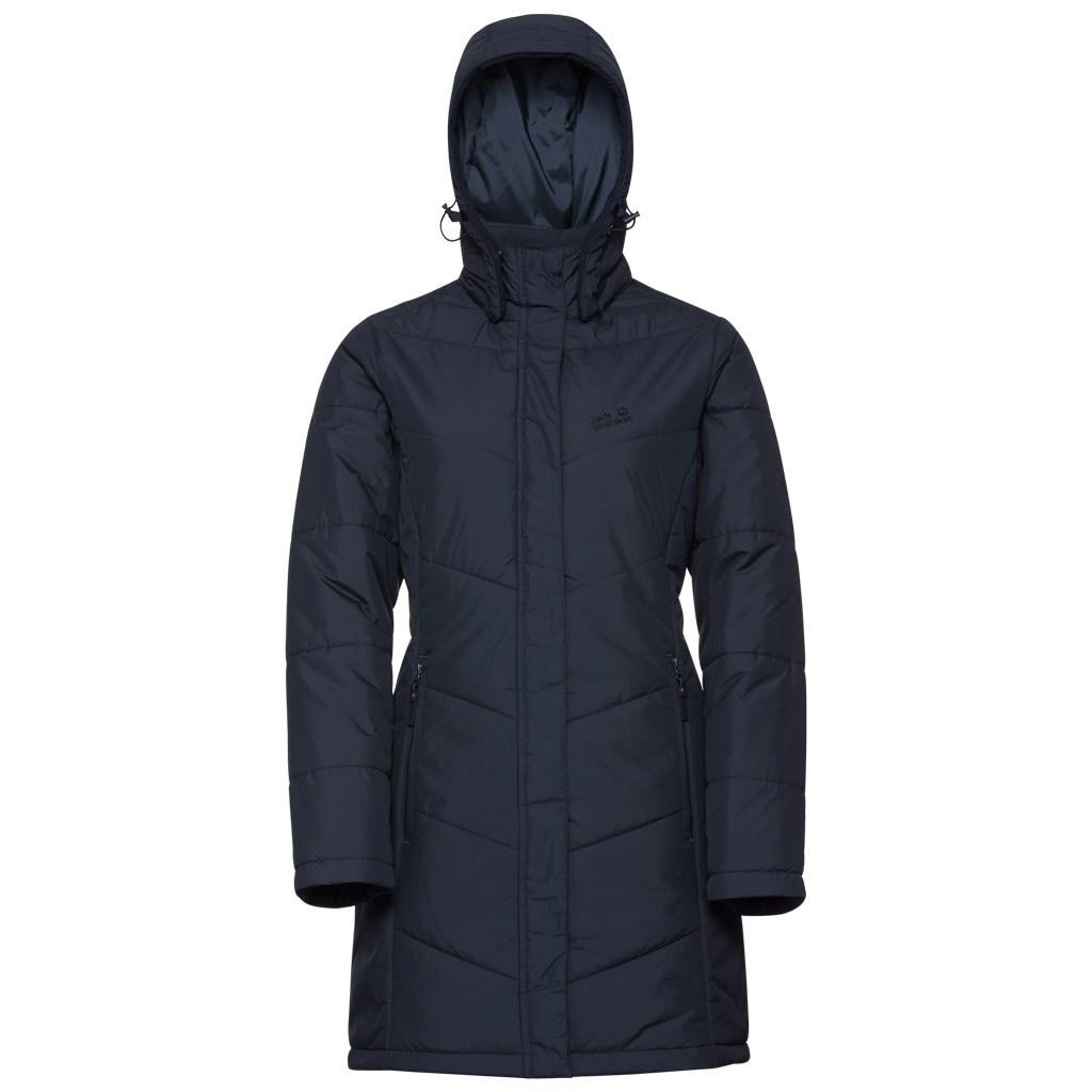 cb8342d3fe Jack Wolfskin Womens Svalbard Coat - Midnight Blue £67.50