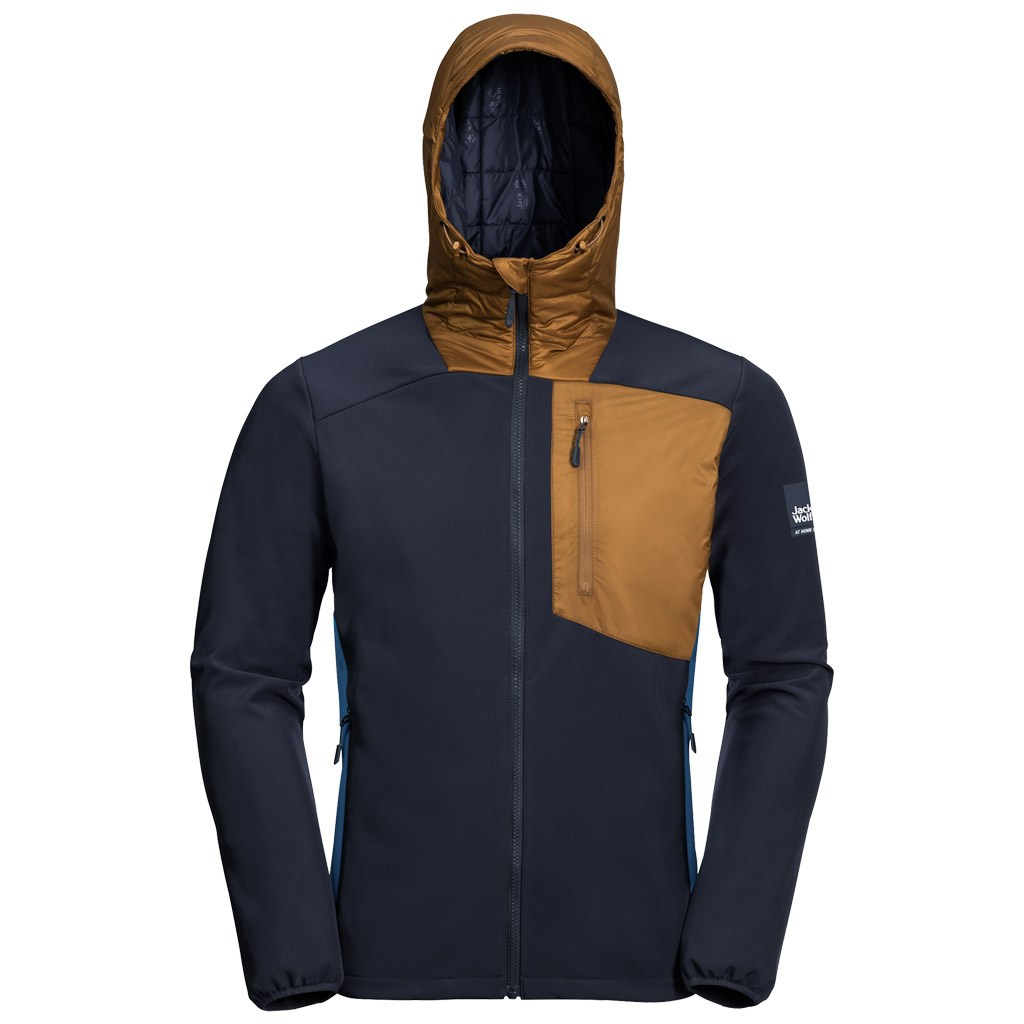for whole family classic sneakers Jack Wolfskin Mens 365 Millennium Jacket - Night Sky Blue £84.00