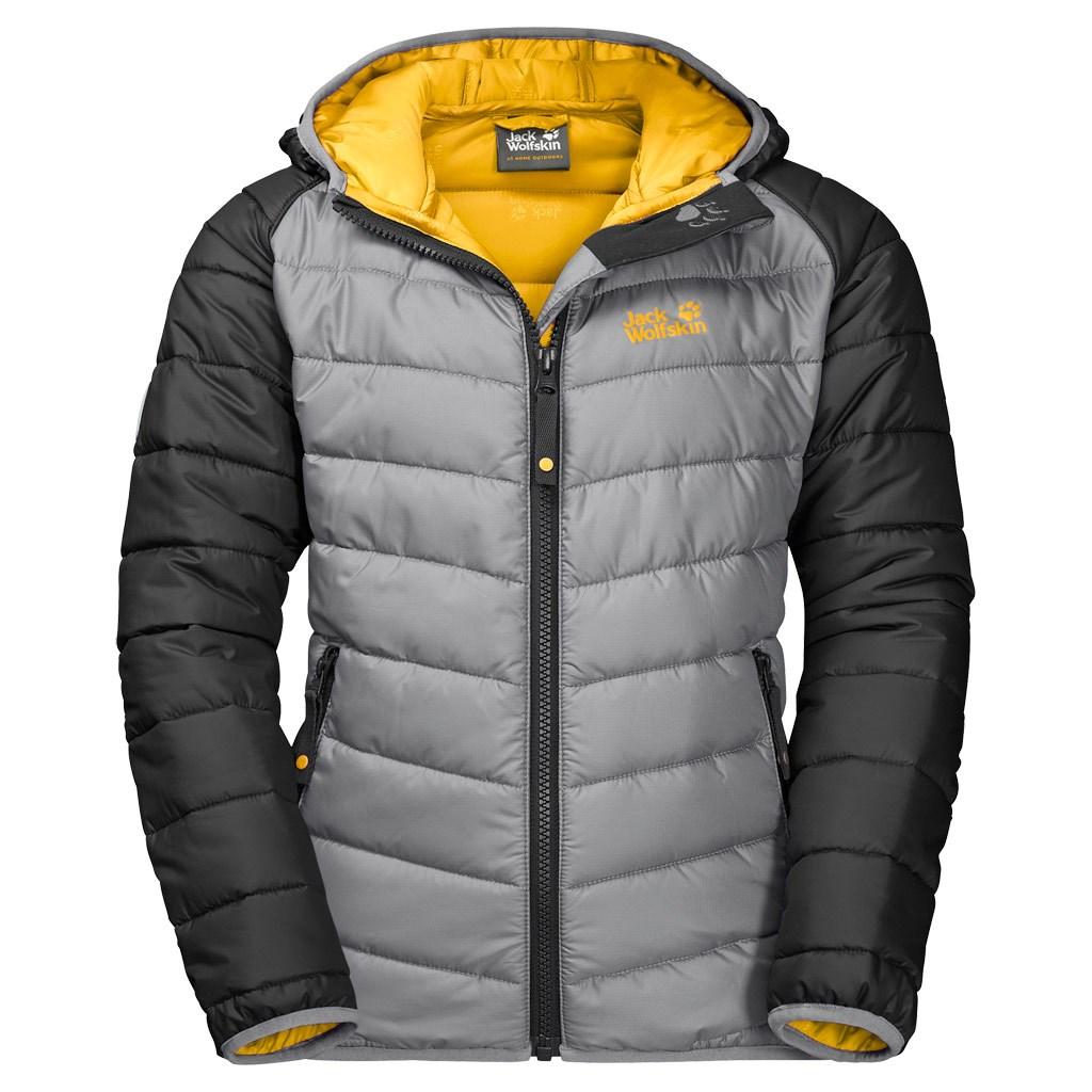 half off 8815a b3445 Jack Wolfskin Kids Zenon Winter Jacket - Slate Grey £65.00