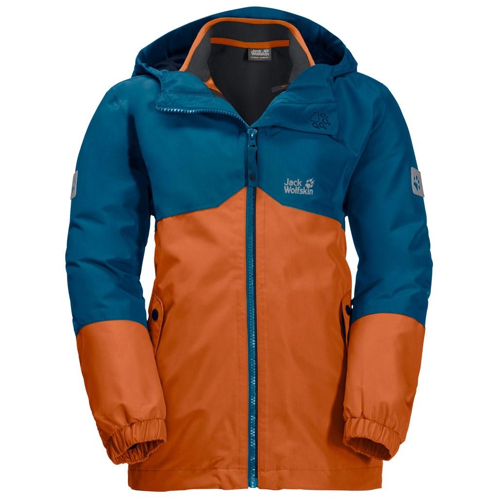 separation shoes new cheap 50% off Jack Wolfskin Boys Iceland 3-in-1 Jacket - Desert Orange £42.00