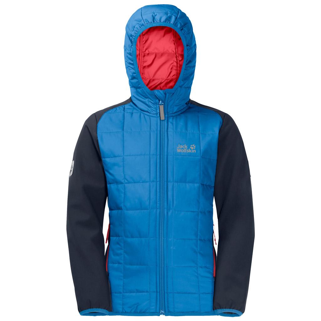 Jack Wolfskin Boys Grassland Hybrid Jacket Sky Blue £35.00