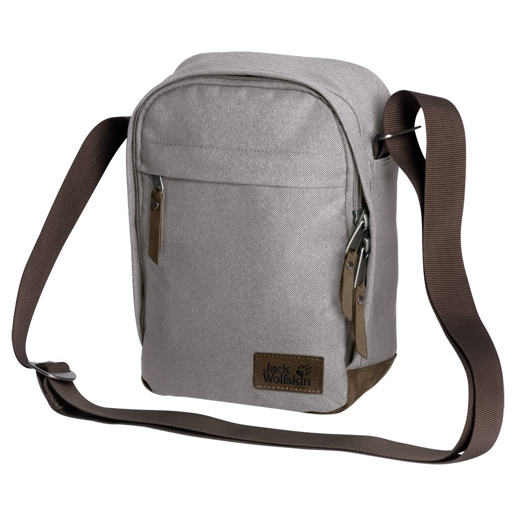 online Shop verrückter Preis uk billig verkaufen Jack Wolfskin Heathrow Shoulder Bag - Clay Grey £28.00