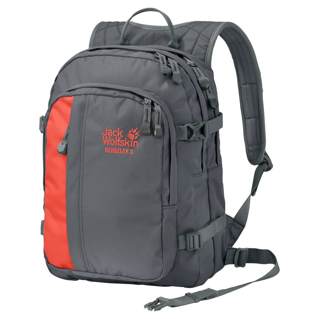 hete nieuwe producten Officiële Website laagste korting Jack Wolfskin Kids Berkeley S Backpack - Dark Iron £30.00