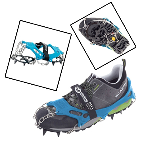 Climbing Technology Ice Traction Crampons