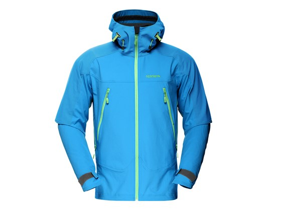 e82da539 Norrona Mens Falketind flex1 Jacket - Too Blue £199.00