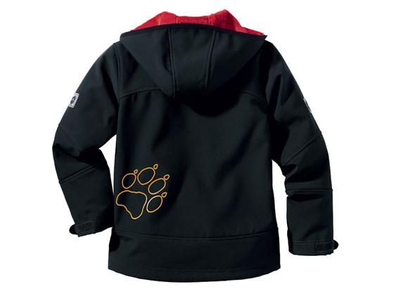 Entdecken Sie die neuesten Trends neue auswahl heiß-verkaufendes echtes Jack Wolfskin Kids Icedancer Jacket - Black £75.00
