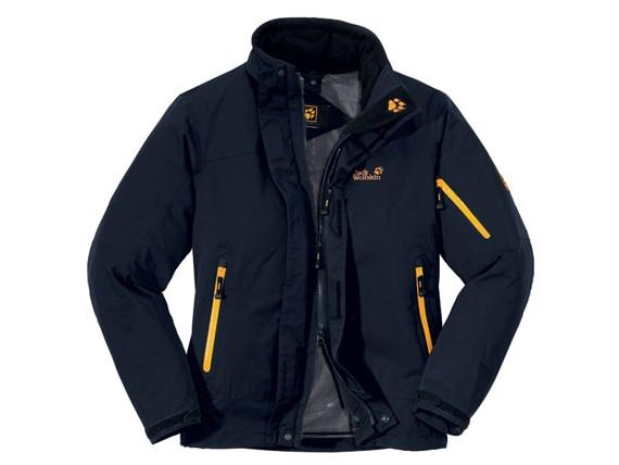 new photos website for discount huge discount Jack Wolfskin Mens Resolution Jacket - Blue Graphite £150.00