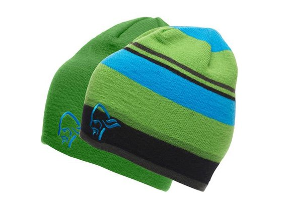 0dbea9a2ba8 Norrona 29 Reversible Beanie - Green Multi ONLINE OFFER £34.00
