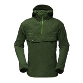 Norrona Mens Svalbard Cotton Anorak - Forest