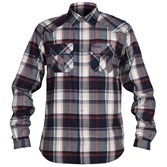 to see ' Bergans Mens Bjorli Shirt - Midnight Blue/ Burgundy Check ' in more detail, click here