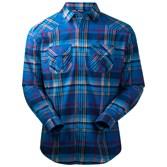 to see ' Bergans Mens Bjorli Shirt - Light Sea Blue/ Navy Check ' in more detail, click here