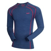 to see ' Bergans Mens Fjellrapp L/S Top - Navy Melange/ Red ' in more detail, click here