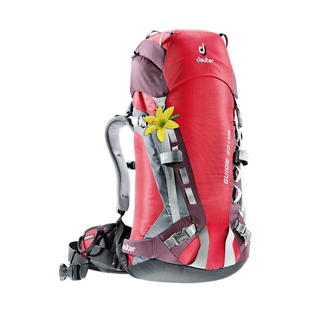 echte Schuhe Kundschaft zuerst abwechslungsreiche neueste Designs Deuter Guide 30+ SL Rucksack - Fire/Aubergine £125.00