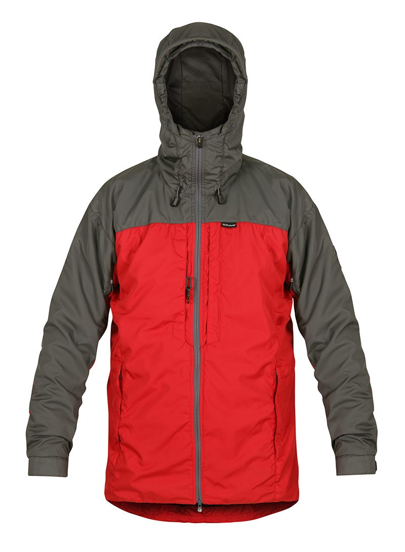Paramo Mens Alta Iii Jacket Fire Rock Gery