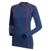 to see ' Bergans Womens Fjellrapp L/S Top - Navy Melange/Red ' in more detail, click here